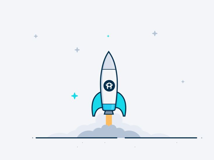 Rocket illustration by our friend @egorkosten