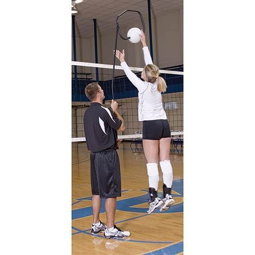 Other Volleyball 2919: Volleyball Spike Trainer Training Tool Teachers Players To Spike All Ages -> BUY IT NOW ONLY: $139 on eBay!