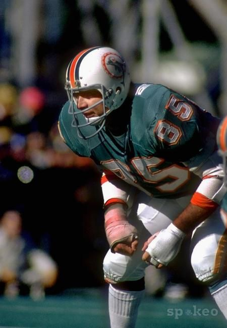 """10. Nick Buoniconti  It comes as no surprise that we include the NFL Hall of Fame middle linebacker Nick Buoniconti. As a tackle, Nick was considered by NFL scouts as """"too small"""" to play pro football. However, in 1962 he was drafted by the Boston Patriots and switched to linebacker. He obviously made the right decision considering his immediate impact, he was named the team's rookie of the year. A year later, he helped Boston capture the 1963 AFL Eastern Division title. His time with Boston…"""