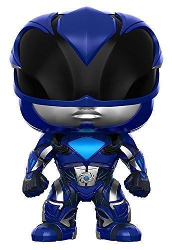 Funko POP Movies: Power Rangers Blue Ranger Toy Figure