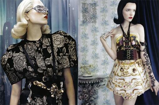 Produccion para Vogue Italia