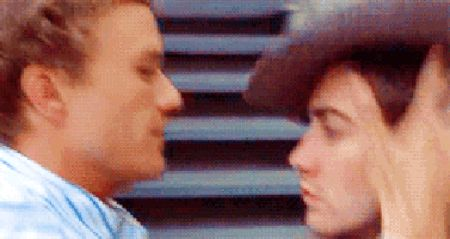 When Ennis jumped Jack in a fit of passion, even though he was in FULL VIEW of his wife, in Brokeback Mountain. | 31 Grand Romantic Gestures That Gave You Unrealistic Expectations For Love