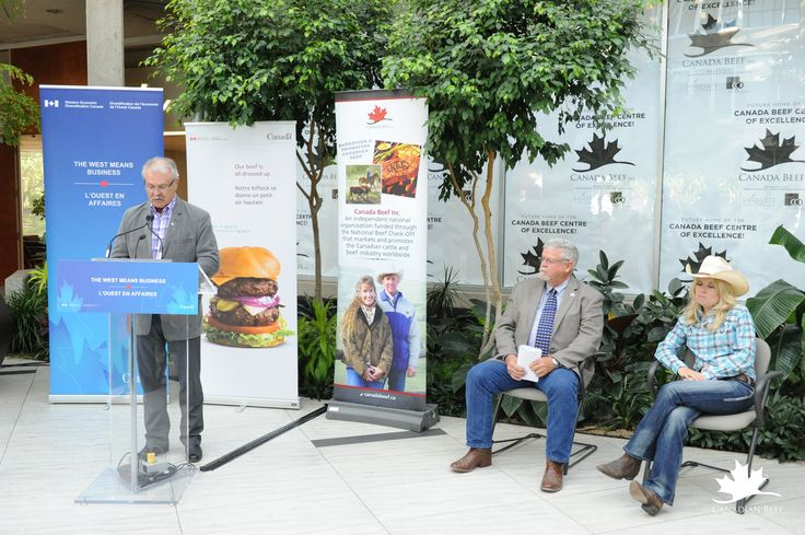Press Conference for the Launch of the Canada Beef Centre of Excellence. #CdnBeefCentre