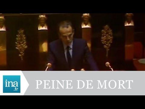 """Robert Badinter """"J'ai l'honneur de demander l'abolition de la peine de mort en France"""" - Archive INA - YouTube"""