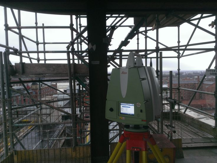 Scanning a Manchester Tower Block