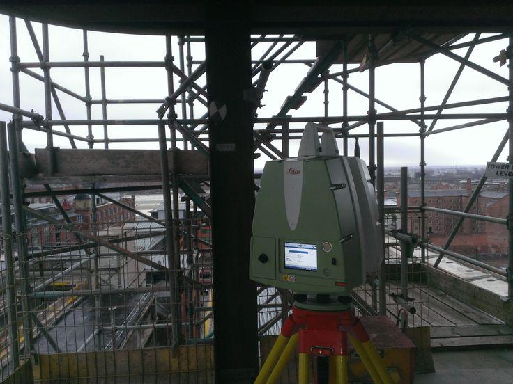 Scanning a Manchester Tower Block