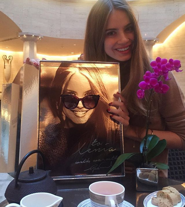 Being spoiled rotten by @trussardinews at @parkhyattmilan.. With these newest personalised diva sunnies. Such a fun gift!