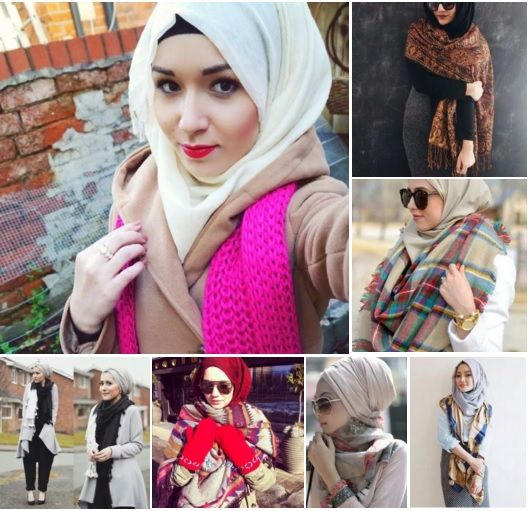 There so many ways you can wear hijab with scarf! Check it out