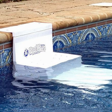 The PoolPup Steps are a convenient way for your swimming dog to get in and out of the water easily and an excellent safety device while you're away from the pool. Give yourself ease of mind knowing yo                                                                                                                                                                                 More