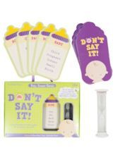 Don't Say It Baby Shower Game - Party City: Showers, Shower Ideas, Baby Shower Games, Parties Cities, Games Parties, Baby Shower Parties, Products, Parties Games, Baby Shower