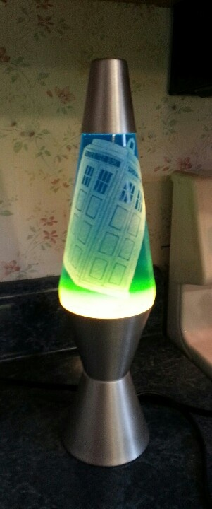 Good Dr. Who Lava Lamp