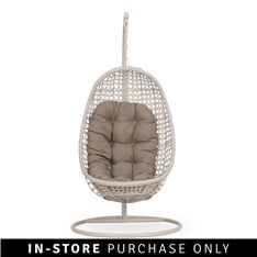 hanging chair crazy weave natural