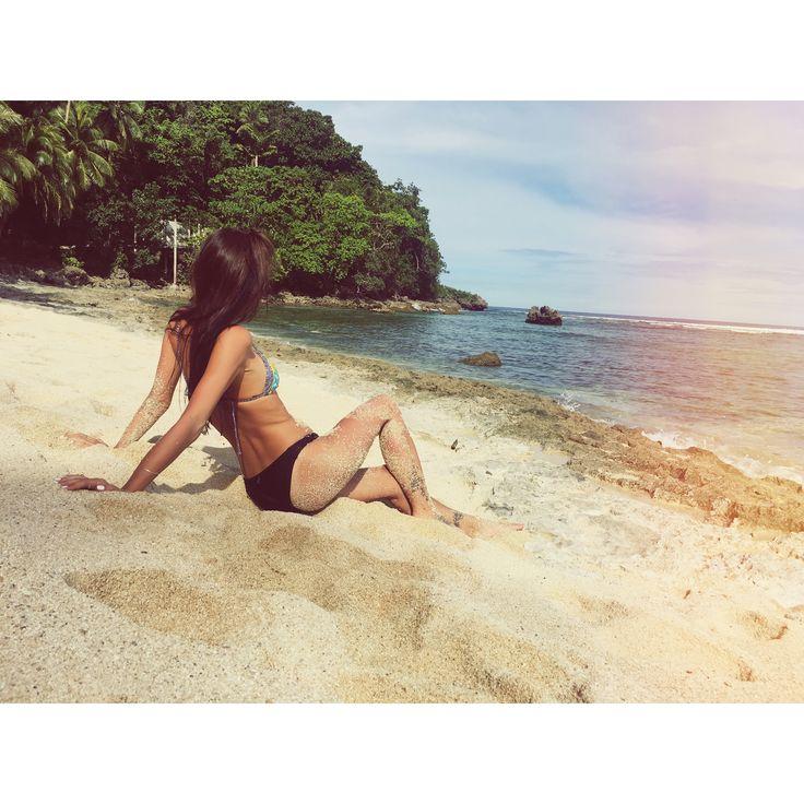 #Philippines #siargao #siargaoisland #summer #beach #palm #bikini