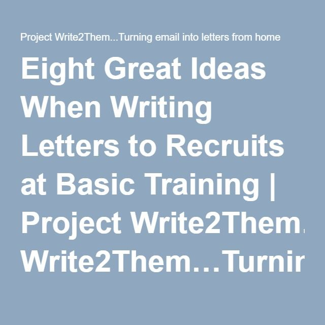 Can anyone think of a good topic to write a letter about?