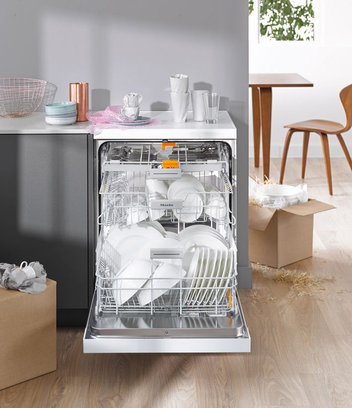 Ideal for your first home, the Miele Jubilee dishwasher has been awarded a prestigious Quiet Mark and a Which? Best Buy and is rated A++ for energy efficiency