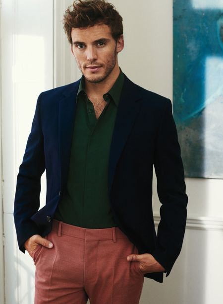 New Sam Claflin interview in Instyle UK