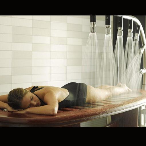 Daylesford signature spa experiences - Vichy shower, Hepburn Bathhouse & Spa