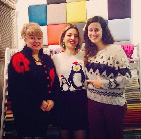 #christmasjumperday for Save the Children – the Islington team #pretavivre http://www.pretavivre.com/islington-showroom