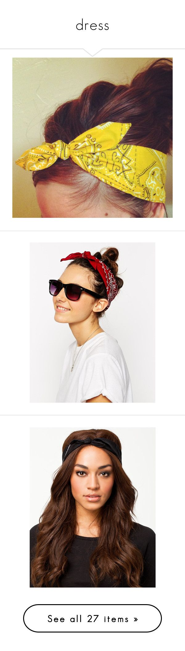 """dress"" by katspanje ❤ liked on Polyvore featuring accessories, hair accessories, hair, headbands, bandanna headband, hair band accessories, bow headwrap, bandana bow headband, head wrap hair accessories and burgundy"