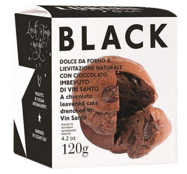 Lunardi Black Hefekuchen mit Vino Santo und ZB Schokolade 120g