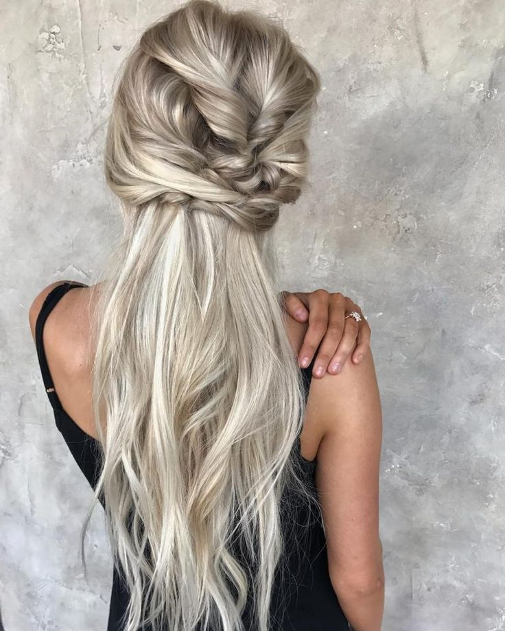 messy-braided-hairstyle-with-long-hair-women-long-hairstyles-for-summer-5 ~ Pelo-largo.com