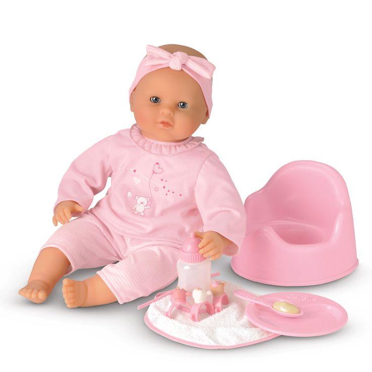 La poupée Lia est une poupée interactive extra tendre qui, par simple contact réagit comme un vrai bébé. Pour les enfants dès 3 ans, Lia est un grand poupon de 42 cm habillé d'un pyjama 2 pièces et coiffé d'un bandeau. Lia prononce 13 phrases et sons en 4 langues (Français, Anglais, Espagnol et Italien).