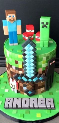 Minecraft Cake #coupon code nicesup123 gets 25% off at  Provestra.com