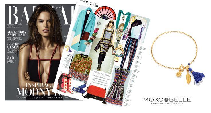 #mokobelle #mokobellejewellery #jewellery #jewelry #bransoletka #lifestyle #bijou #stars #pressroom #harpersbazaar