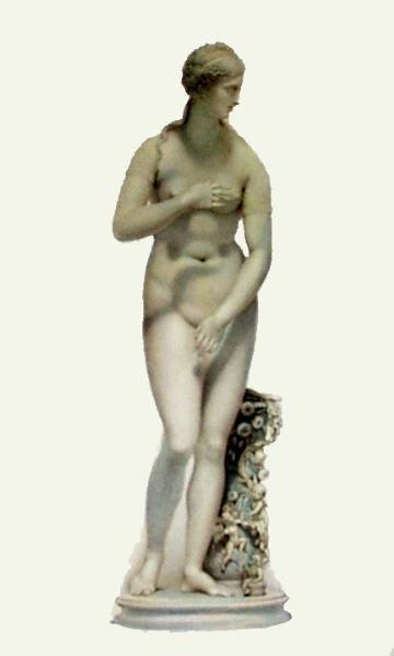 nude female classical statue
