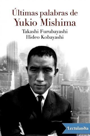 Dos entrevistas, dos tiempos, dos puntos de vista opuestos para proyectar un poco de luz sobre la biografía, la manera de pensar y la creación literaria de Yukio Mishima. Uno de los más importantes escritores japoneses contemporáneos, autor de culto...