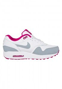 Beoordeling Hardloopschoenen Nike Air Max 1 Essential Dames Wit Grijs Nam Korting