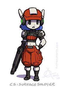 Cave Story surface soldier