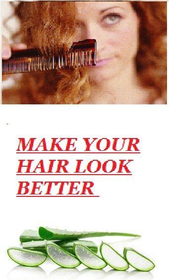 MAKE YOUR HAIR BETTER !! #Hair #Tips #Tricks #AloeVera