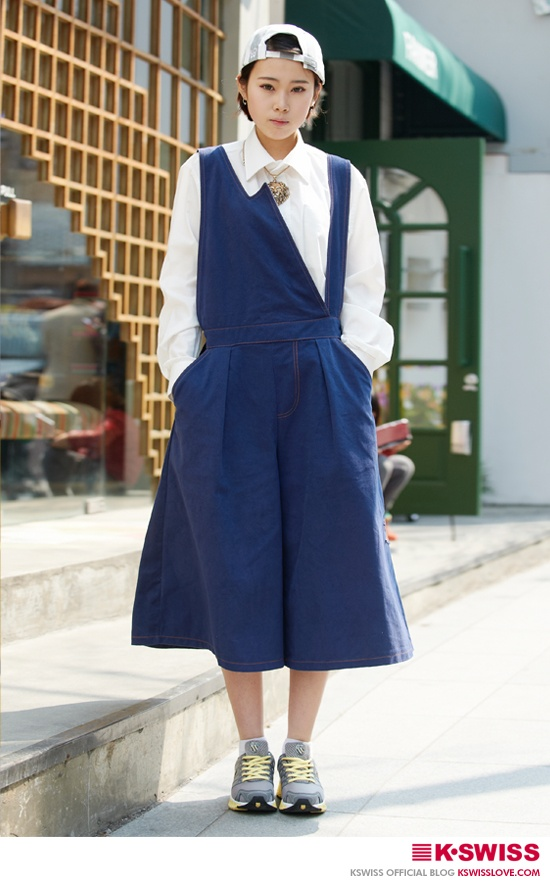 K-SWISS KOREA woman style street fashion #BLADE_MAX  #kswissloveblog