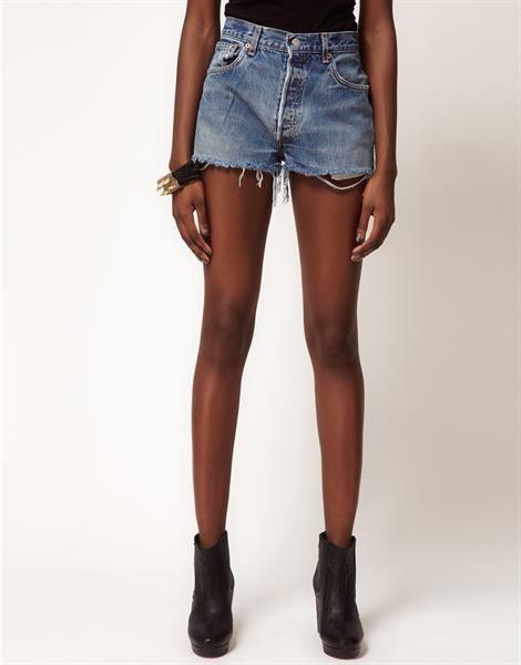 Заказать джинсовые шорты на шорты на высокой талии