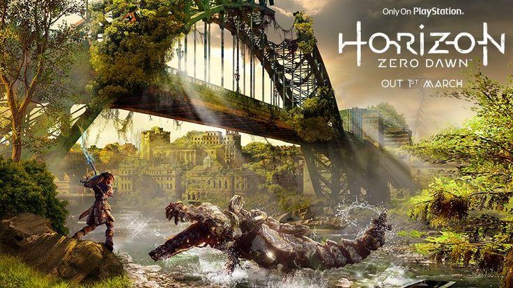 スコットランドの有名なエディンバラ城近くに設置されている広告が、話題をよんでいます。This Horizon game advertisement shows the very same castle in the background a...