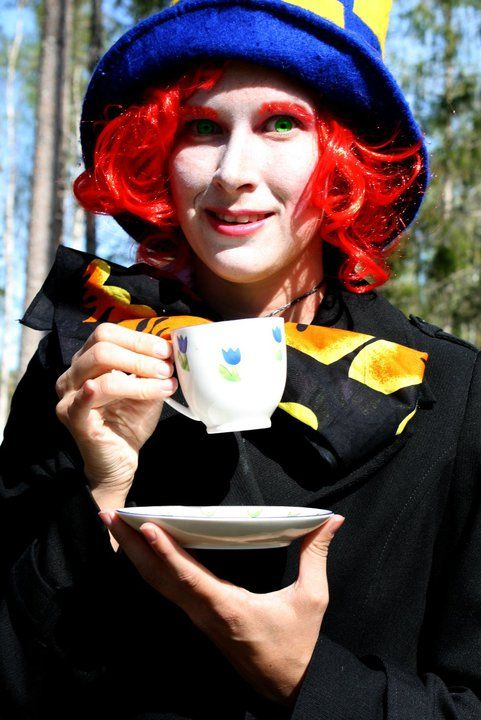Do you want a cup of tea? The mad hatter always have some!