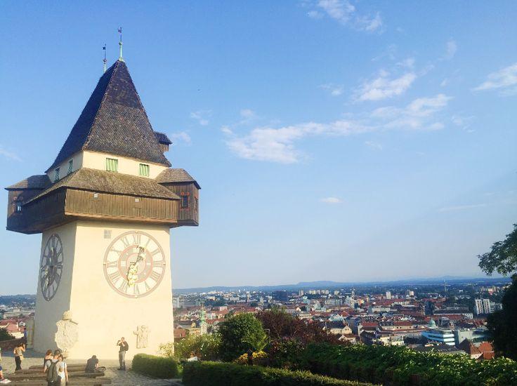 Graz, Austria Travel Guide: clock tower graz austria
