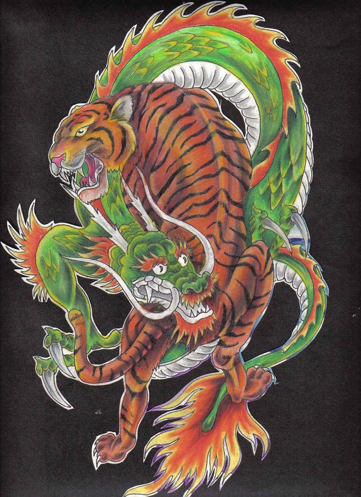 фотки дракон и тигр пока остается