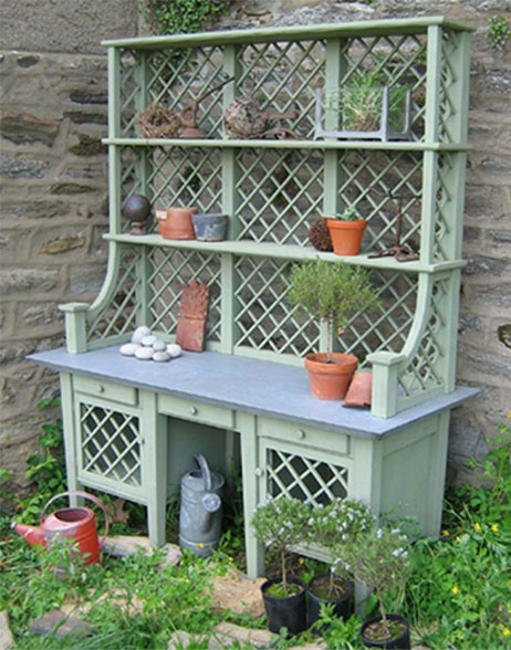 another potting bench
