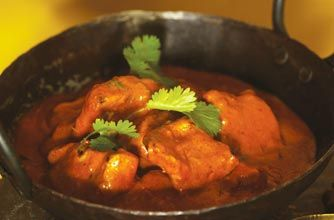 This is the celeb chef's version of the classic Indian dish, butter chicken, from his show Gordon's Great Escape