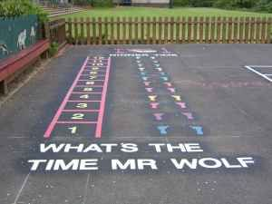 What Time is it Mr Wolf? Playground game