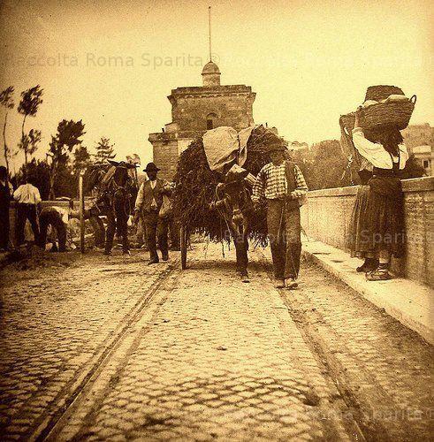Ponte Milvio Anno: 1890