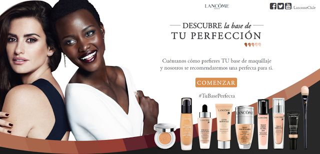 La Piecita de Chivi :  Notas Flash: #TuBasePerfecta Lancôme