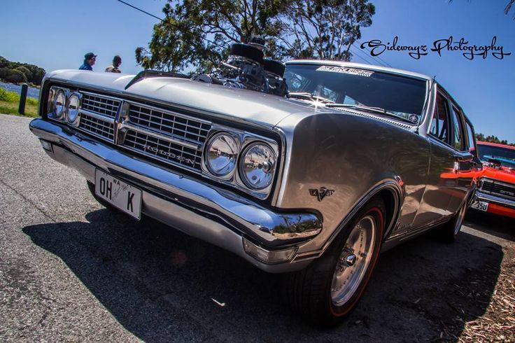 Silver Holden HK Wagon