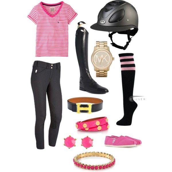 Pink, black, gold schooling