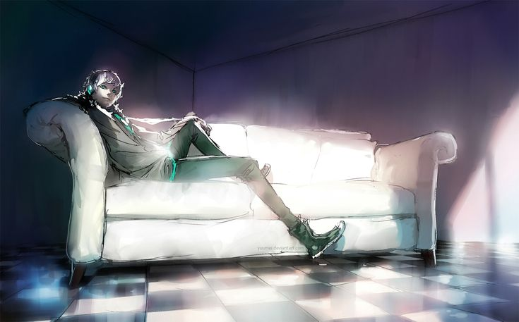 Fisheye Placebo: Complacent by yuumei.deviantart.com