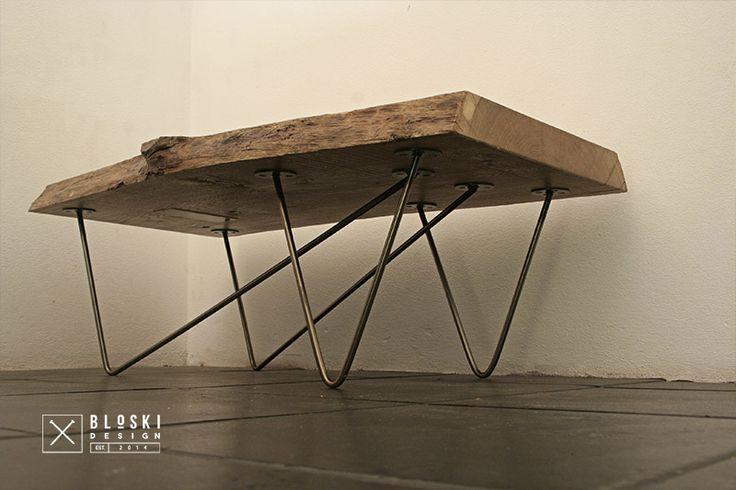 Bloski thin legs... steel & oak
