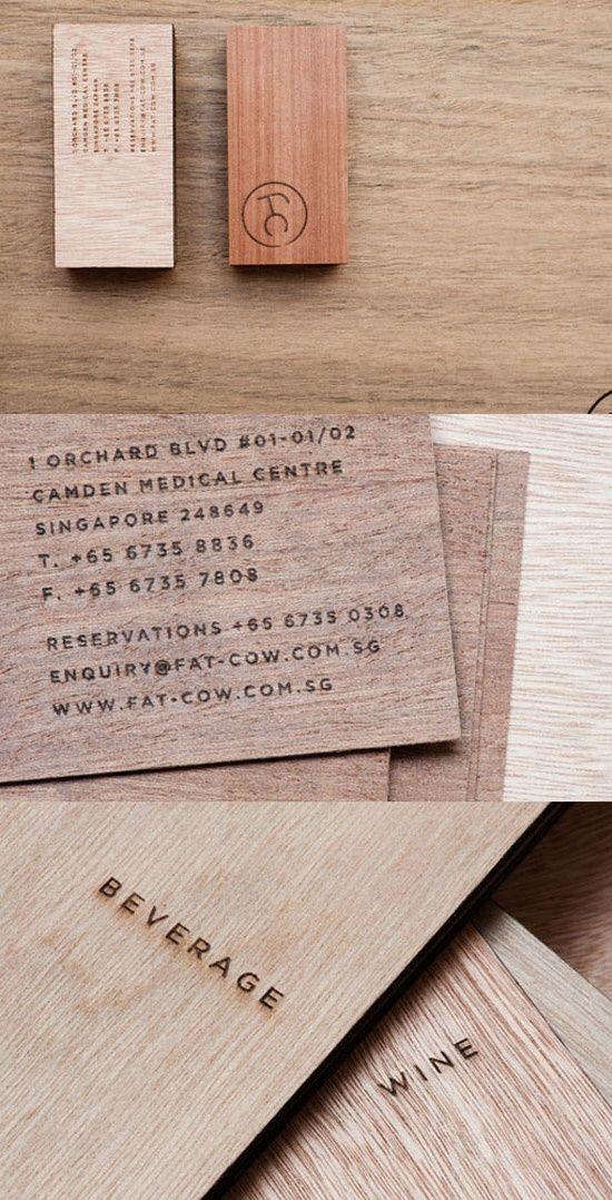 fat-cow.co.sg | #Business #Card #letterpress #creative #paper #bizcard #businesscard #corporate #design #visitenkarte #corporatedesign < repinned by www.BlickeDeeler.de | Have a look on