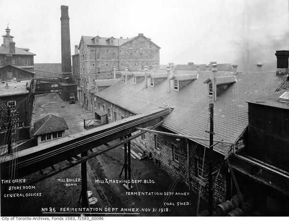 Gooderham Worts Distillery Toronto